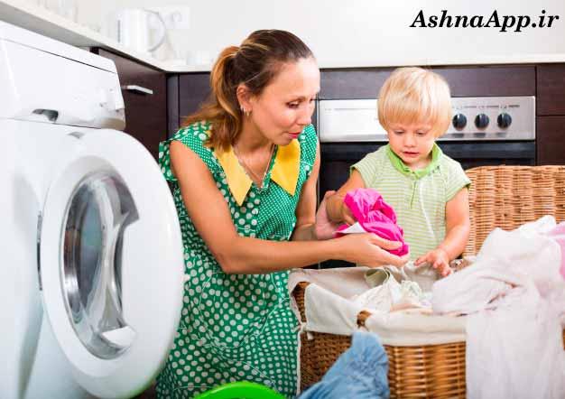 دلیل تخلیه نکردن ماشین لباسشویی